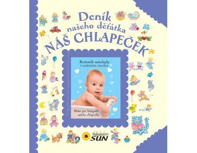 Sun Deník našeho děťátka Náš chlapeček
