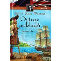 Sun Dvojjazyčné čtení Česko-Anglické Ostrov pokladů