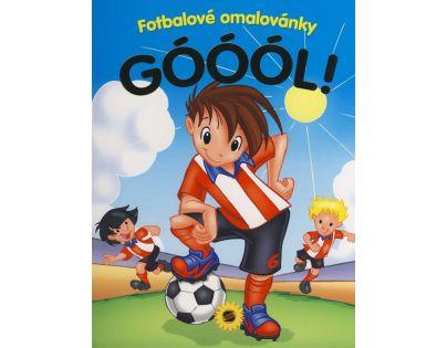 Sun Góóól! Fotbalové omalovánky