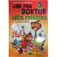 Sun Jak pan doktor léčil zvířátka První čtení s velkými písmenky