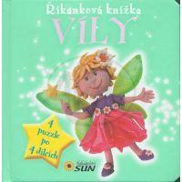 Sun Říkanková puzzle kniha Víly