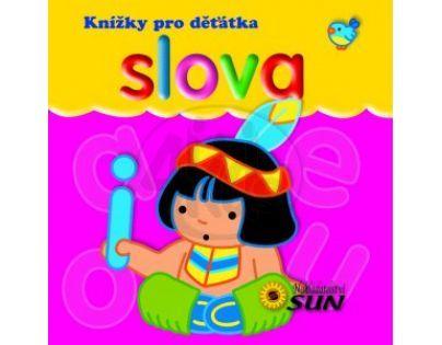 Sun Knížky pro děťátka - Slova
