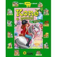 Sun Koně a poníci 8 puzzle