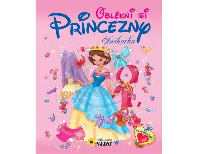 SUN 0130381 - Oblékni si princezny Sněhurka