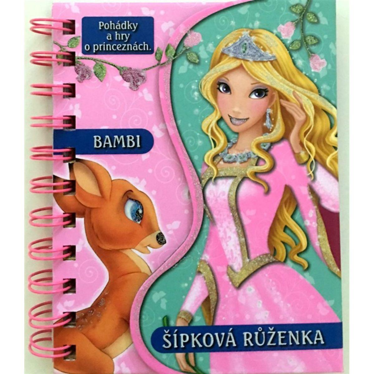 Sun Pohádky a hry Bambi a Šípková Růženka Nakladatelství SUN
