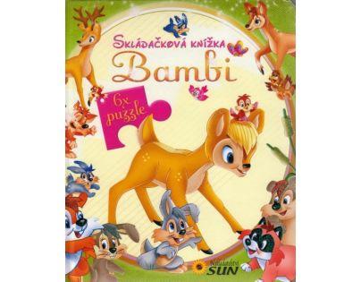 Sun Skládačková knížka Bambi