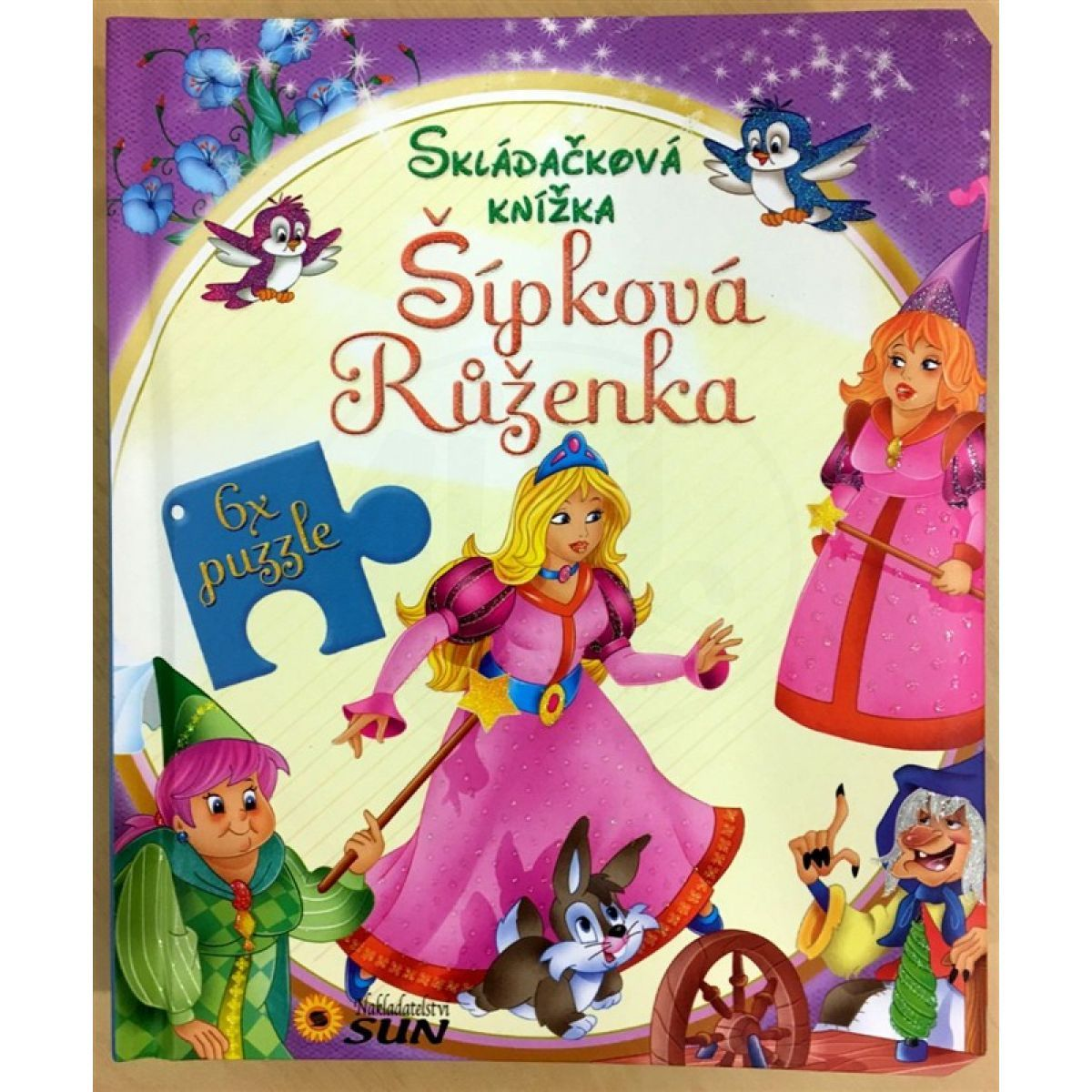 Sun Skládačková knížka Šípková Růženka