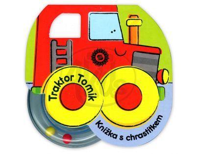 Sun Traktor Tomík Knížka s chrastítkem