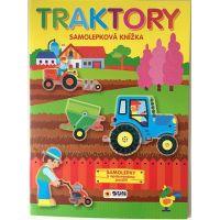 Sun Traktory Samolepky k opakovanému oužití