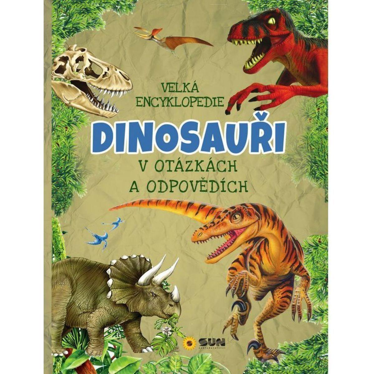 Sun Velká encyklopedie Dinosauři v otázkách a odpovědích  - Poškodený obal