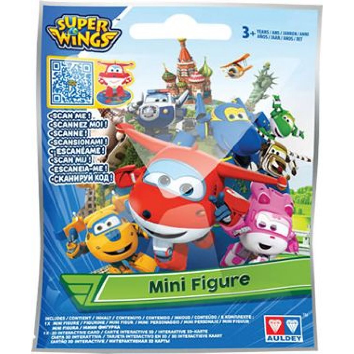 Super Wings Mini figurka v sáčku