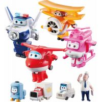 Super Wings Transformuj Robota 4 členové posádky v balení