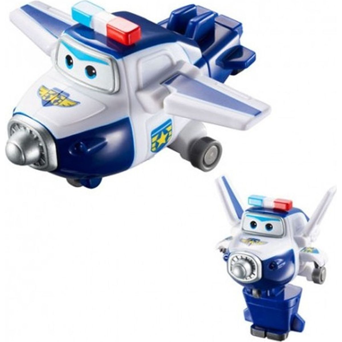 Super Wings Transformující se Paul