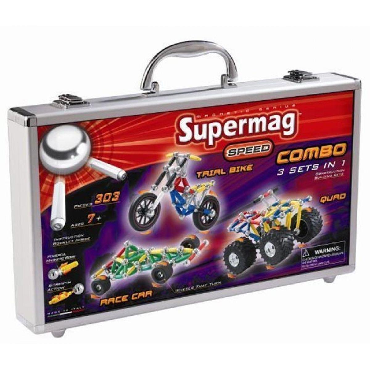 Supermag 0497 - Combo 3v1 v kufru (303 dílků)