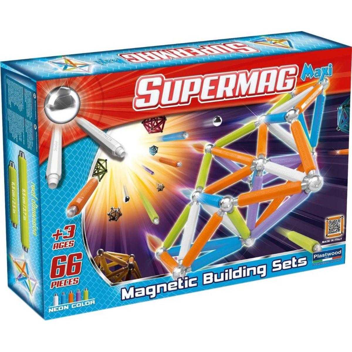 Supermag Supermaxi Neonové barvy 66d