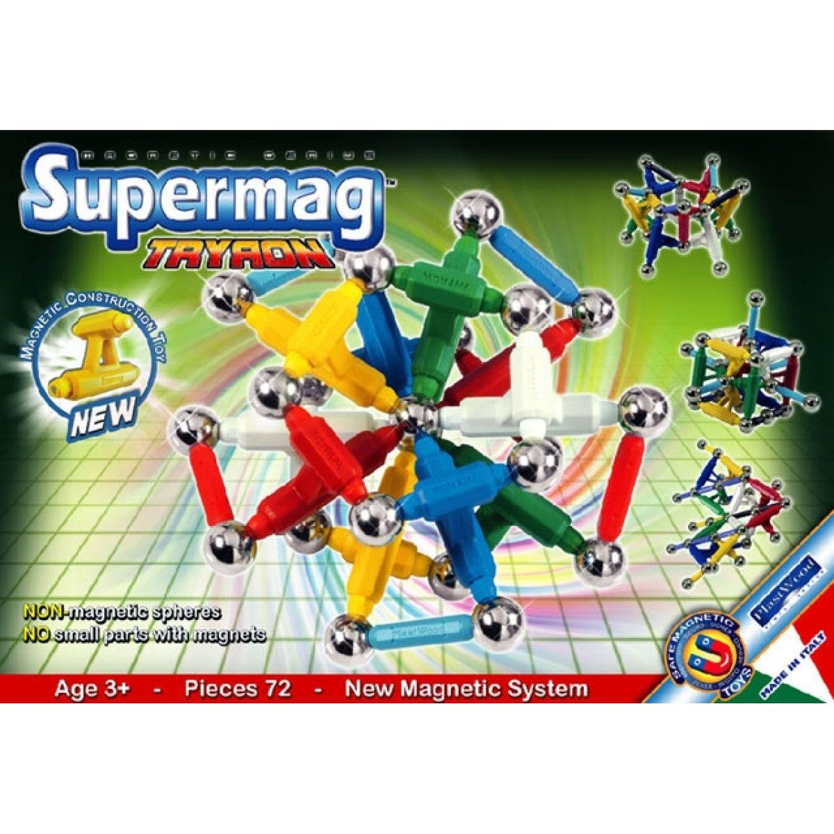 Supermag 0569 - Supermag TRYRON 72 dílků, zelený