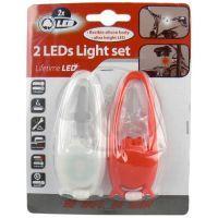 Světlo na kolo LED silikon