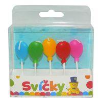 HM Studio Svíčky na dort balonky 5ks