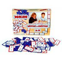 Domino sčítání a odčítání do 10 - 60ks