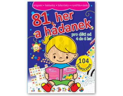 81 her a hádanek pro děti od 4 do 6 let