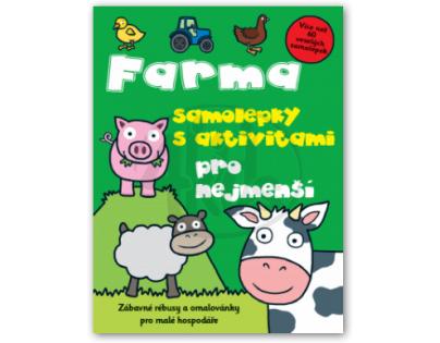 SVOJTKA & Co 0124685 - Farma samolepky s aktivitami pro nejmenší