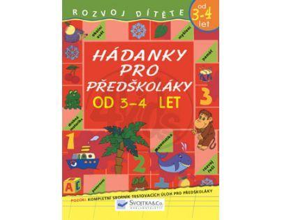 SVOJTKA & Co 0062590 - Hádanky pro předškoláky od 3 - 4 let