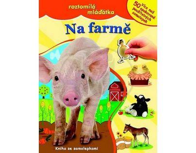 Svojtka Na farmě Kniha samolepek