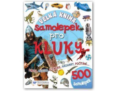 SVOJTKA & Co 0106343- Velká kniha samolepek pro kluky