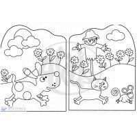Svojtka Zvířátka z farmy Kniha omalovánek 3