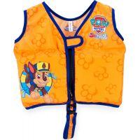 Swimways Plavací vesta na zip Paw Patrol oranžová Chase