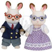 Sylvanian Families Babička a dědeček chocolate králíci