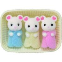 Sylvanian Families Baby Marshmallow myšky trojčata