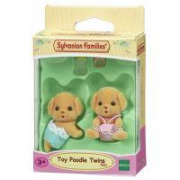 Sylvanian Families 5261 Baby pudli dvojčatá 2
