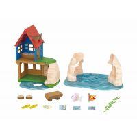 Sylvanian Families Dárkový set Dům na pláži s příslušenstvím
