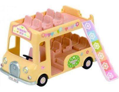 Sylvanian Families Dvoupatrový školní autobus