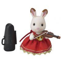 Sylvanian Families Město houslistka chocolate králík