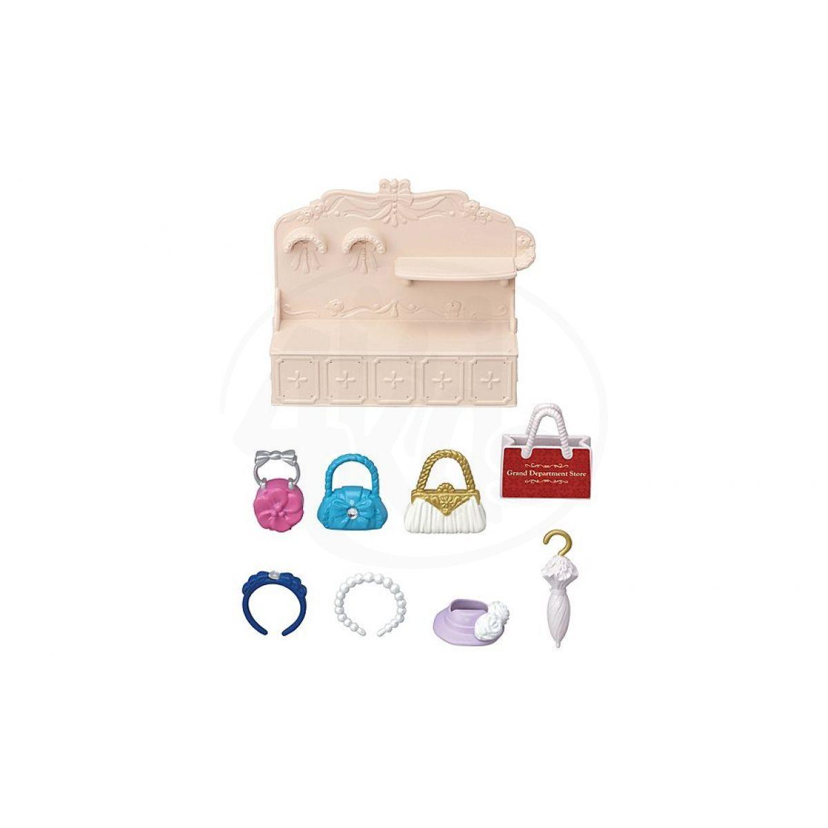 Sylvanian Families Město Módní butik s kabelkami a doplňky