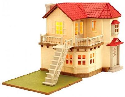 Sylvanian Families Městský patrový dům se světly a příslušenstvím - Poškozený obal