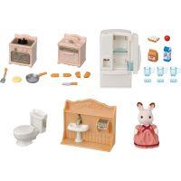 Sylvanian Families Nábytek startovací set nábytků a chocolate králík mamka