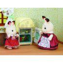 """Sylvanian families Nábytek """"chocolate"""" králíků - mamka u ledničky 2"""