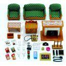 Sylvanian Families Obývací pokoj Deluxe set 4