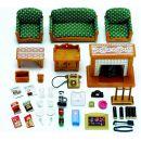 Sylvanian Families Obývací pokoj Deluxe set 3