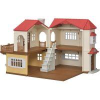 Sylvanian Families Patrový dům s červenou střechou- Poškozený obal