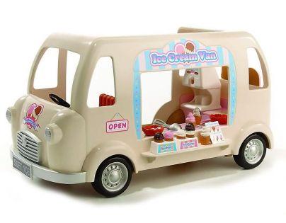 Sylvanian Families Pojízdný obchod se zmrzlinou
