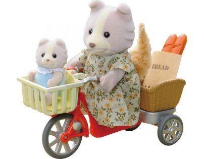 Sylvanian Families Psí rodinka na kole