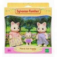 Sylvanian Families Rodina 3 kvetinové mačky 5