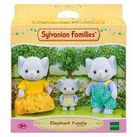 Sylvanian Families Rodina 3 slonov 2