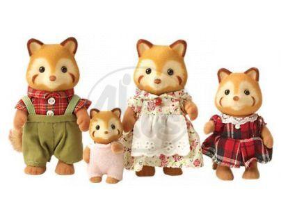 Sylvanian Families Rodina červené pandy