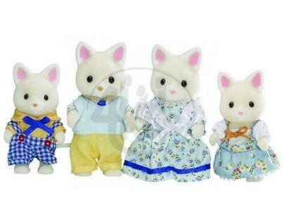 Sylvanian families Rodina hedvábných koček