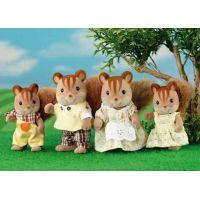 Sylvanian families  Rodina hnědých veverek 2